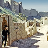 Afghanistan, Herat (1958) - my ex-roommate, David Agee Hoar standing at the foot of the ruined citadel of Herat.