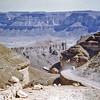South Arabia (1962) - The scary road up Wadi Heenin. Wadi Hadhramaut in background.