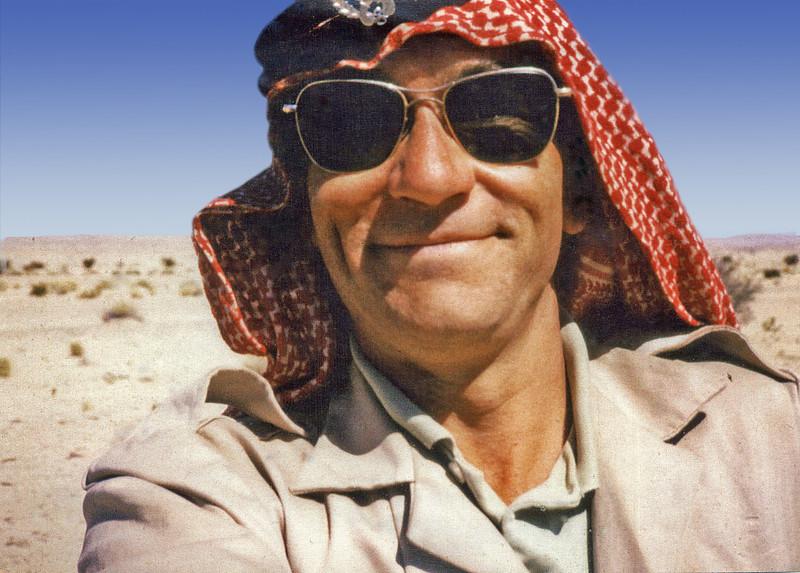 South Arabia (1965) - Me in Hadhramaut Bedouin Legion head-dress (Kuffiya and Egal).