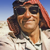 South Arabia (1965) - Me in Hadhramaut Bedouin Legion head-dress (Kuffiya and Egal).