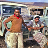 South Arabia (1962) - Abdulqadir and Ahmad Sa'adi - our Ethiopian field party drivers.