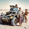 South Arabia (1965) - Scorpion armoured car.
