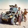 South Arabia (1965) - Scorpion armoured car.