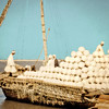 Egypt, Qena (1966) - Earthenware jugs bound for Cairo being loaded aboard a felucca.