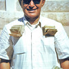 South Arabia (1962) - Abdullah Hassan al Ja'afar. In his pockets are 400,000 East African Shillings (20,000 pounds sterling) - our annual cash payment to the Sultan of Kathiri.