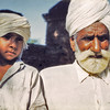 Pakistan, Moinuddinpur (1958) - Baba Ali Akbar and his grandson.