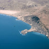 South Arabia (1967) - Mukalla from 30,000 feet