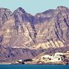 South Arabia (1961-66) - Jebel Shamsun seen from the sea. Aden Colony.