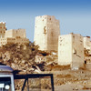South Arabia (1963) - The fortress towers of Wadi Do'an, Wadi Hadhramaut.