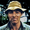 Kenya, Lake Bogoria (1965) - The infamous Roger Mackay - our white hunter on our second safari.