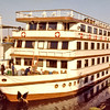 Egypt, Nile Cruise (1982) - Our cruise boat, M.V. Horus.