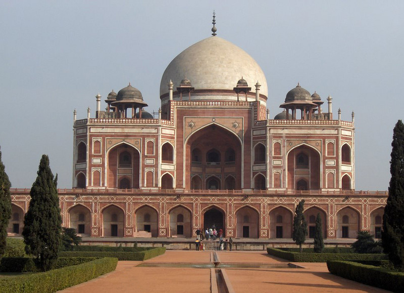 India, Delhi (1958) - Tomb of Mogul Emperor Humayun (ruled 1530-1556). This is the place it all began.