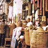 Egypt, Islamic Cairo (1967) - the wonderful Suq al Attarin (Spice Bazaar) in the Khan el Khalili.
