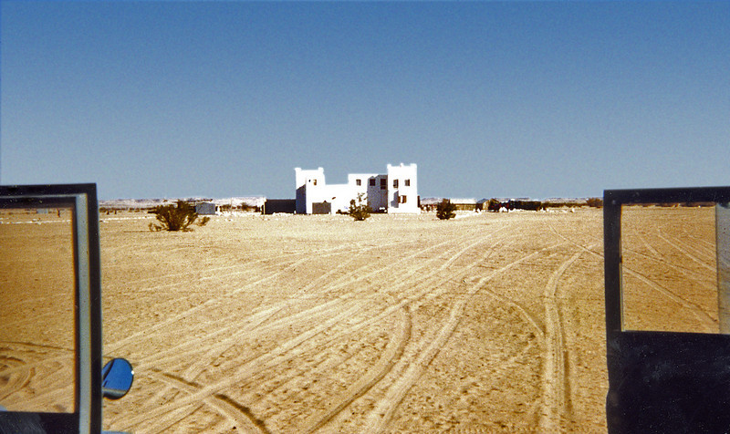 The HBL fort at Thamud, Northern Desert.