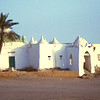 South Arabia l(1962) - The tomb (qubba) of a saint near Abyan. It marked the place where the road to the Hadhramaut left the beach.