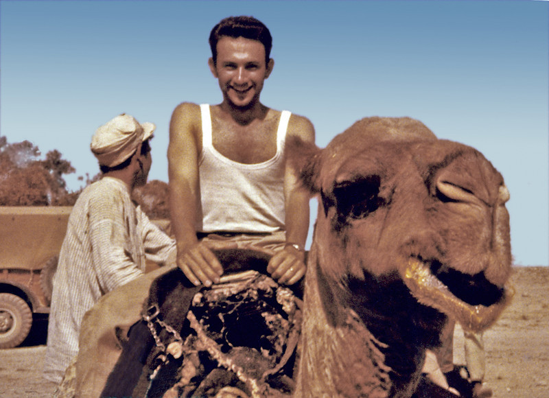 Iran, Baluchistan Makran Coast (1960) - Fereidoon (Fred Saleh) aboard Mehitabel.