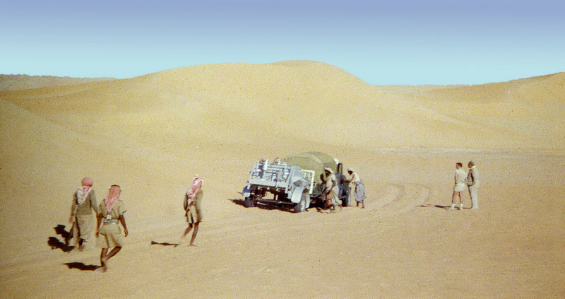 South Arabia (1963) - Stuck in southernment dunes of the Rub-al-Khali.