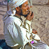 South Arabia (1966) - Habshiya smoking the smallest pipe I ever saw.