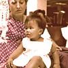 Thailand, Bangkok (1977) - Ailsa and Wichida. Photo taken the day we finally departed Bangkok.