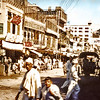 Afghanistan - Kabul (1958) - a main street in the centre of the city.