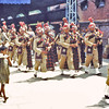 Pakistan (1958) - Army pipe band at Lahore Railway Station.
