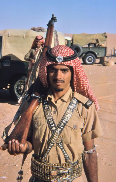 South Arabia (1965) - HBL Jundi reporting to me.
