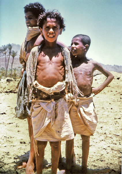 South Arabia (1962) - Jerrican bin Tomatum and his brothers at Thamud.