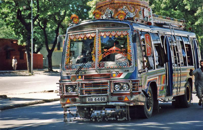 Pakistan, Lahore (1958) - The bus to Wazirabad.
