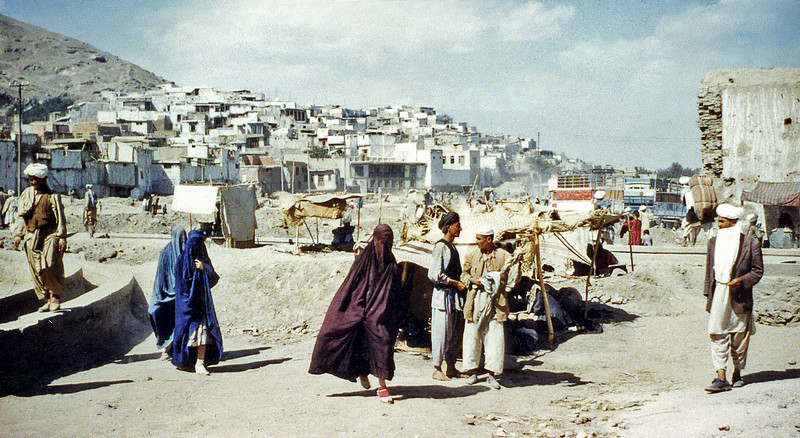 South Arabia (1962) - The only picture I had time to take of Shabwa - probable site of the city of Sheba. West Aden Protectorate.