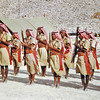 South Arabia (1963) - Hadhramaut Bedouin Legionnaires on Parade.