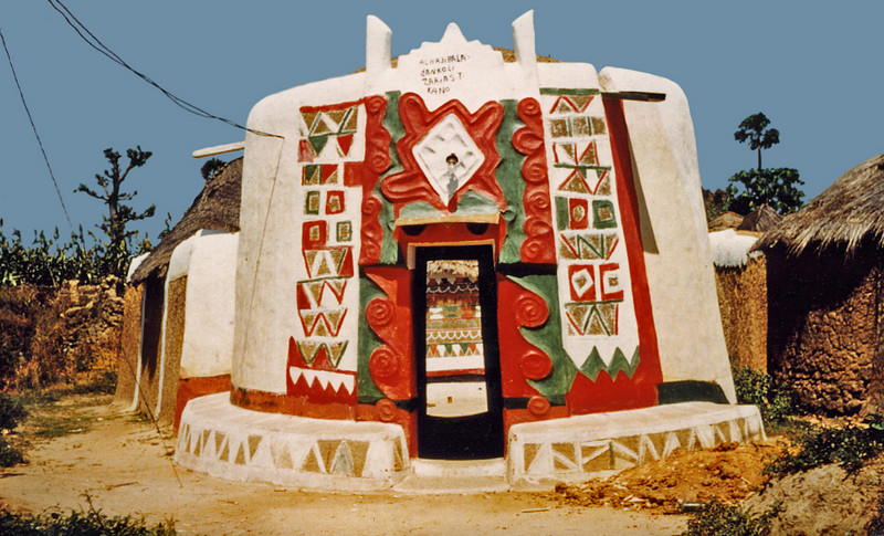 Nigeria, Zaria (1959) - Vernacular architecture of the Hausa Empire.