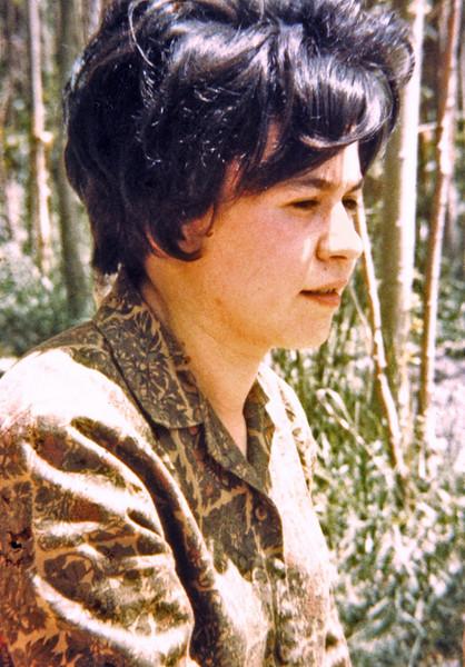 Iran, Tehran (1958) - my Armenian secretary, Anabella Jordanidis.