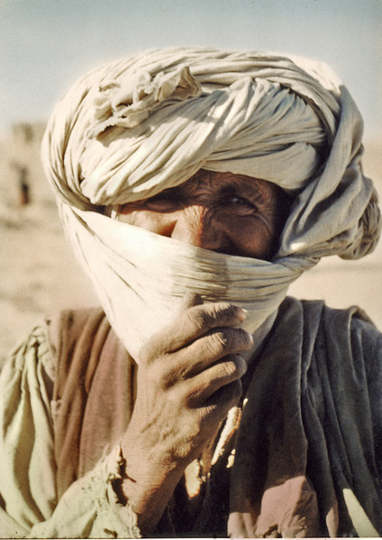 Afghanistan, near Kandahar (1958) - a friendly nomad.