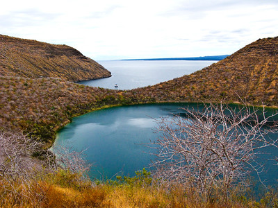 Ecuador, Galapagos Islands, Isabella Island, Lago Darwin