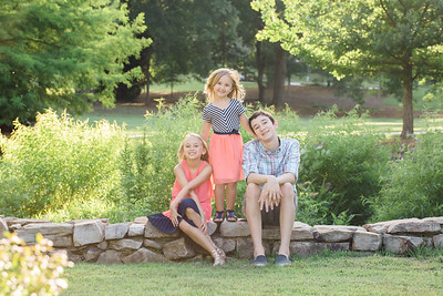Martin and Pettus Siblings  Blending a family can bring new changes, and one of the best is new brothers and sisters.