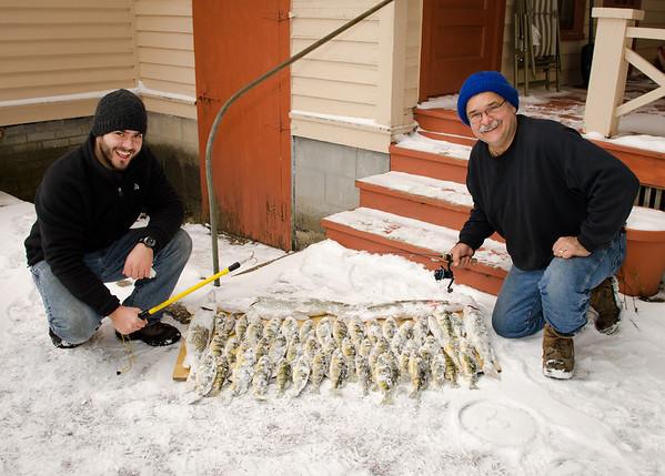 Randy David ice fishing 2-2-13  2101