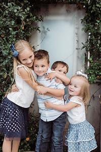 Garzon siblings.  Group hug!