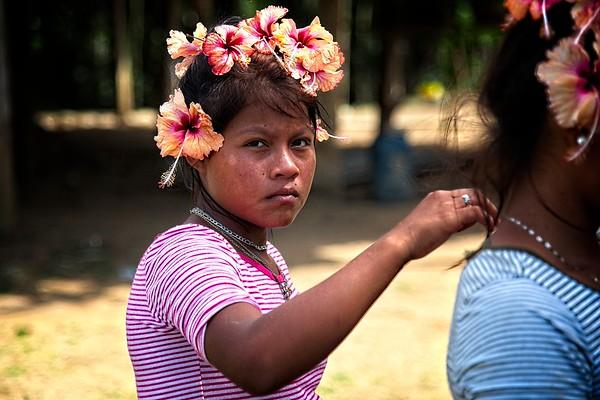 Embera - Rio Congo - Darien, Panama