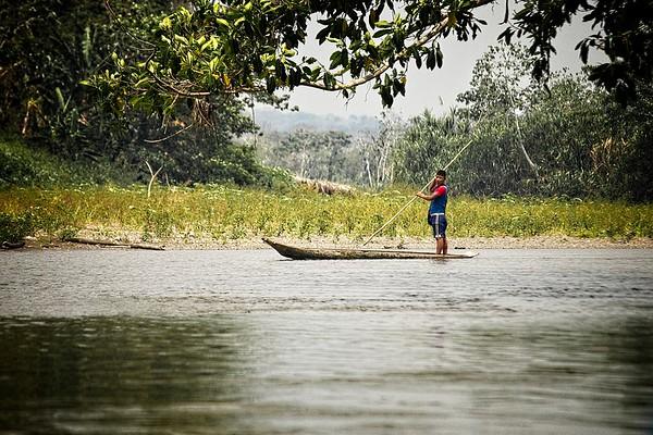 Wounaan - Rio Tuira - Pinogana, Darien, Panama