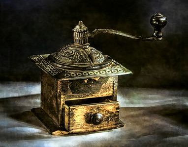 Coffee Grinder - Painted With Light