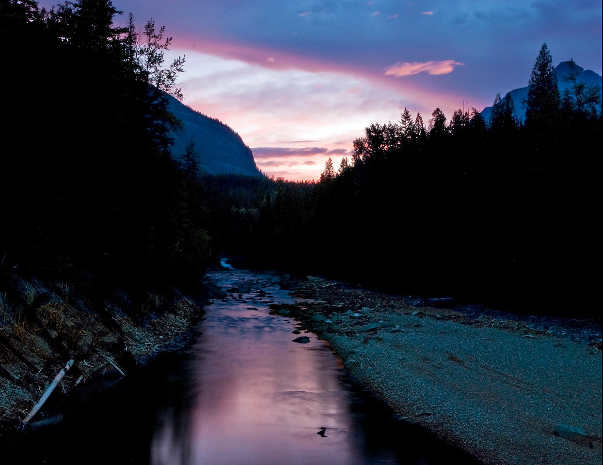 Sunrise North Of Lake McDonald