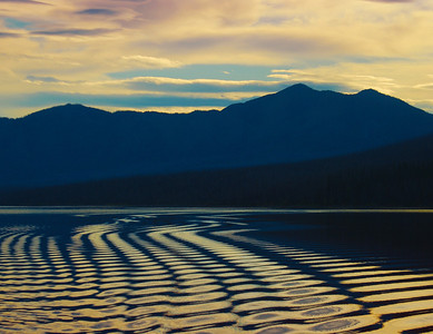 Ripples At Lake McDonald