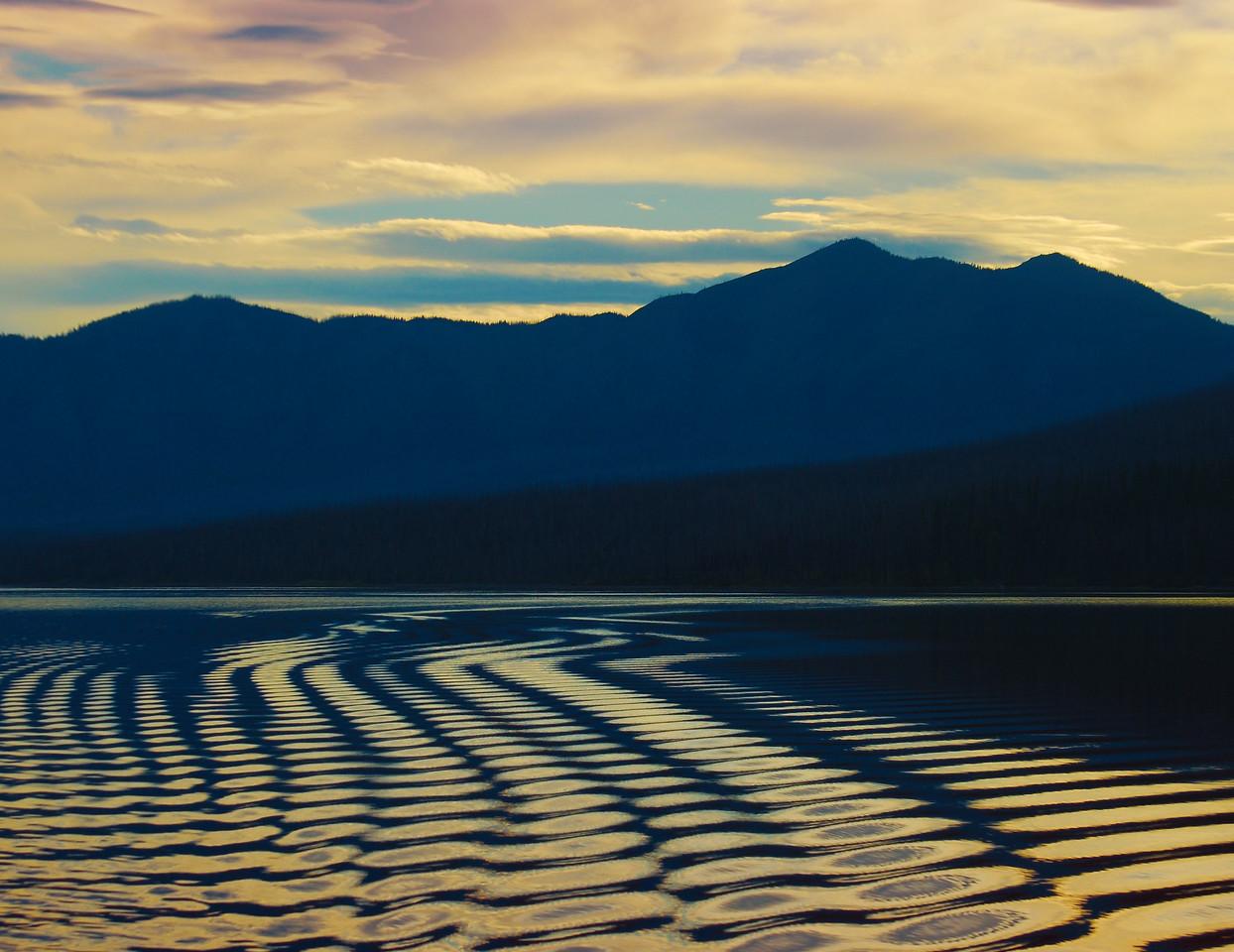 Ripples At Lake McDonald