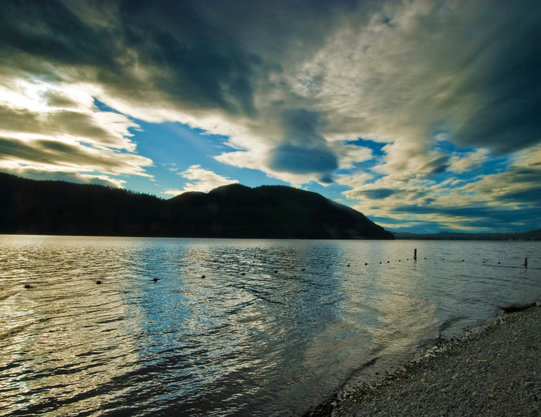 Dramatic Sky - Lake McDonald