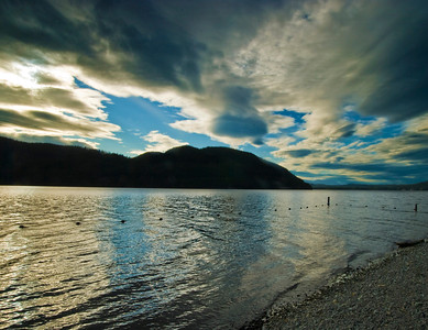 Dramatic Sky - Lake McDonald