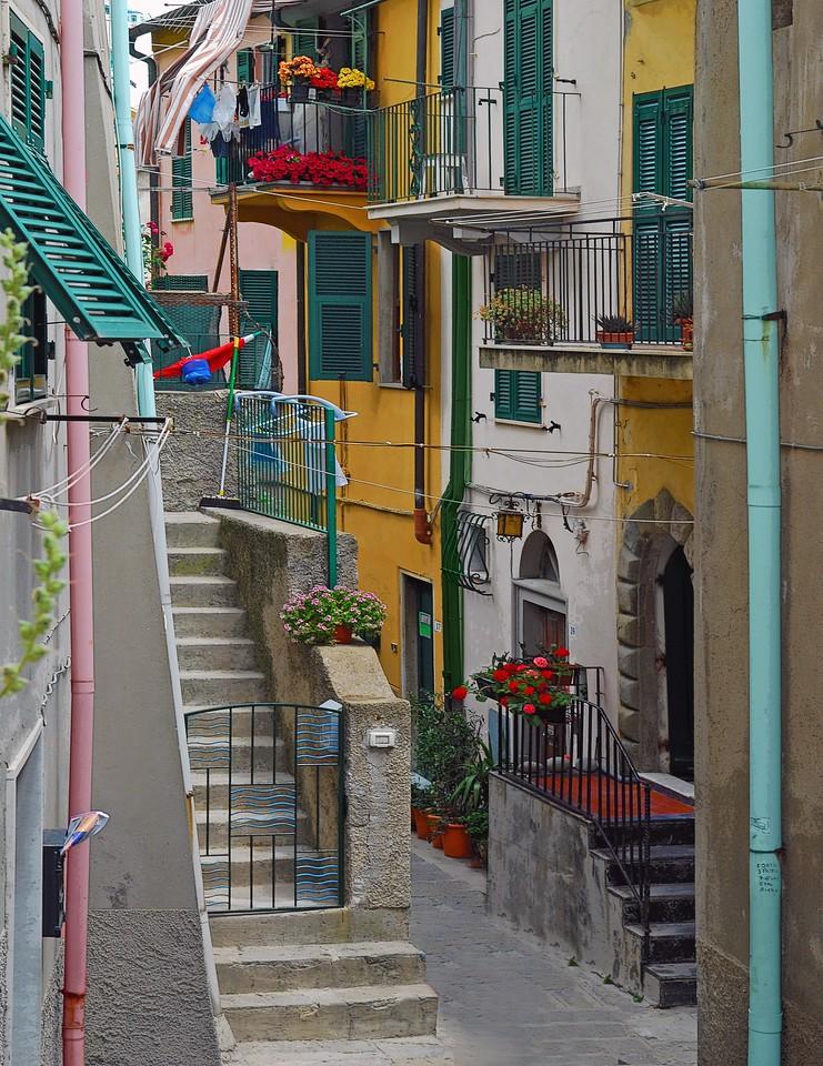 Cinque Terre Alleyway