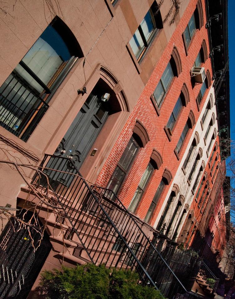 Manhattan Brownstones
