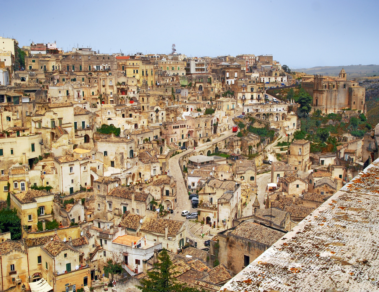 Matera From Afar
