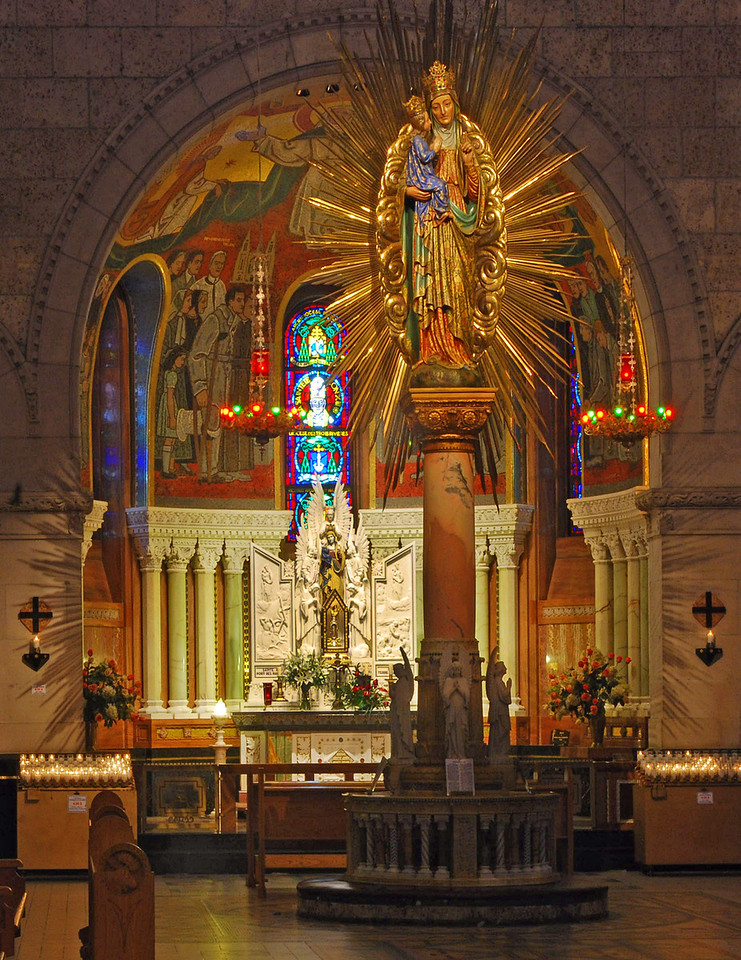Reverse Side - Sainte Anne De Beaupre Upper Sanctuary