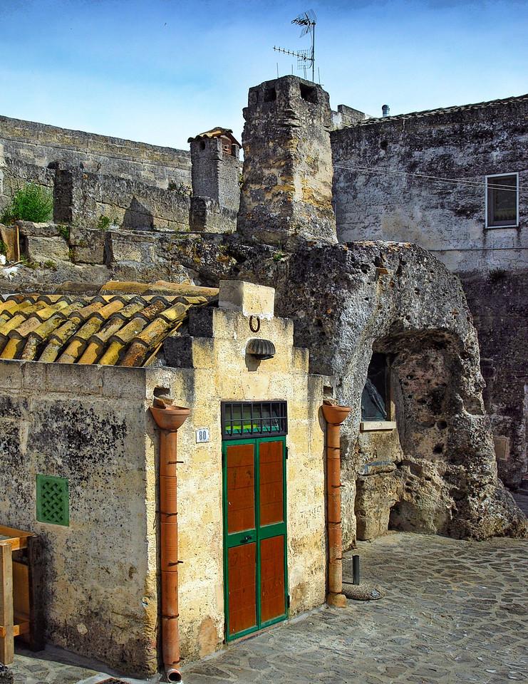 Matera Courtyard